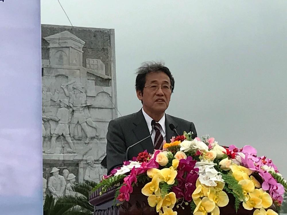 中京地区ベトナム友好協会による「桜プロジェクト2017」植樹式への梅田大使及び栁次席公使の出席について