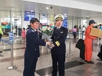 Máy bay Cảnh sát biển Nhật Bản thăm Hà Nội | Đại sứ quán Nhật Bản tại Việt Nam