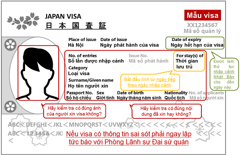 Những chú ý về visa Nhật Bản bạn cần phải nắm rõ